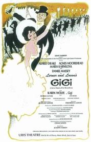 Gigi-original-Broadway-poster