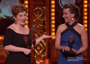 Fun Home Tony Award Winners Jeanine Tesori Lisa Kron Make History YouTube Video