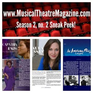 Musical Theatre Magazine Sneak Peek: Laura Osnes, Capathia Jenkins, An American in Paris